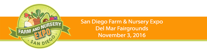 San Diego Farm & Nursery Expo ?>