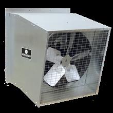 galvanized fan